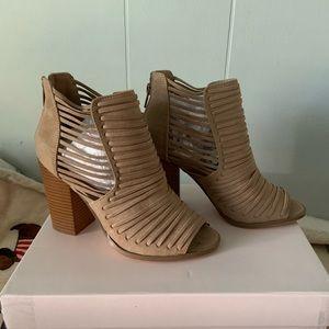JustFab Mayla Heeled Sandal size 5.5